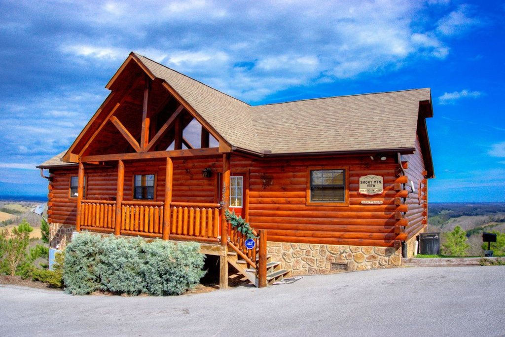 Photo of a Pigeon Forge Cabin named Smoky Mountain View - This is the fortieth photo in the set.