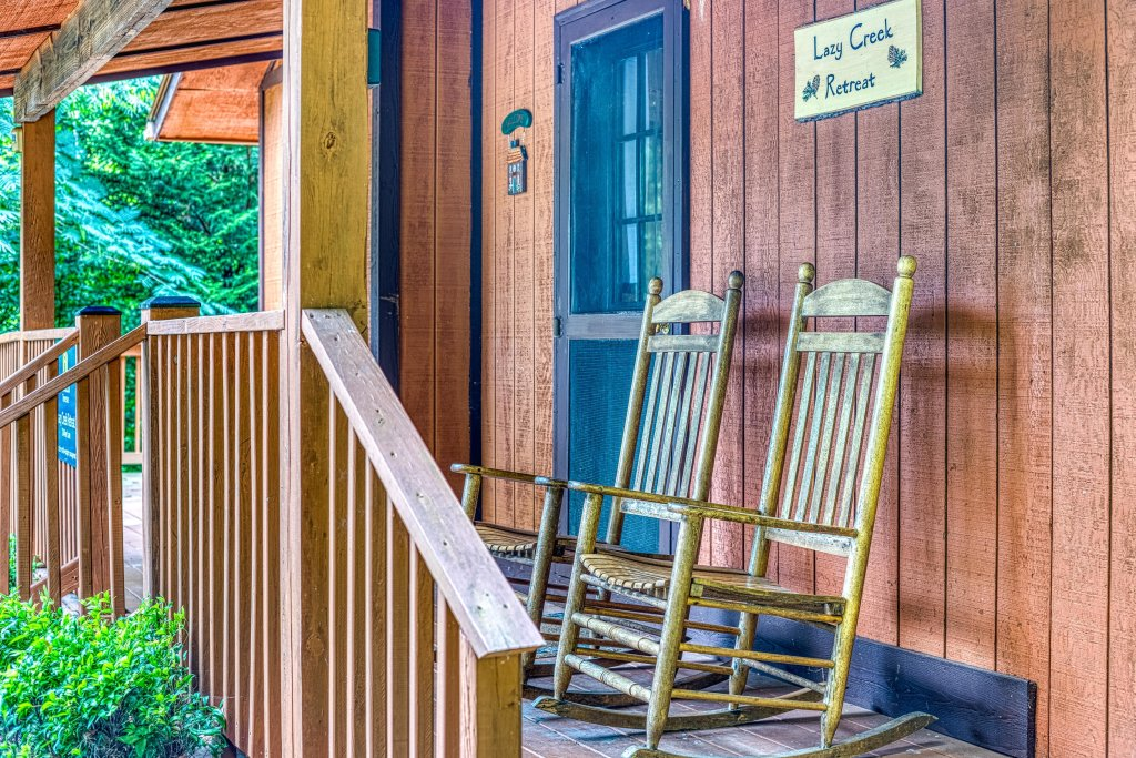 Photo of a Gatlinburg Cabin named Lazy Creek Retreat - This is the third photo in the set.