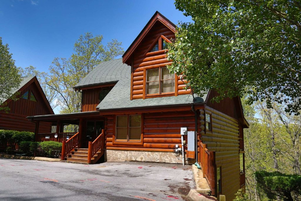 Photo of a Sevierville Cabin named Southern Sky - This is the second photo in the set.