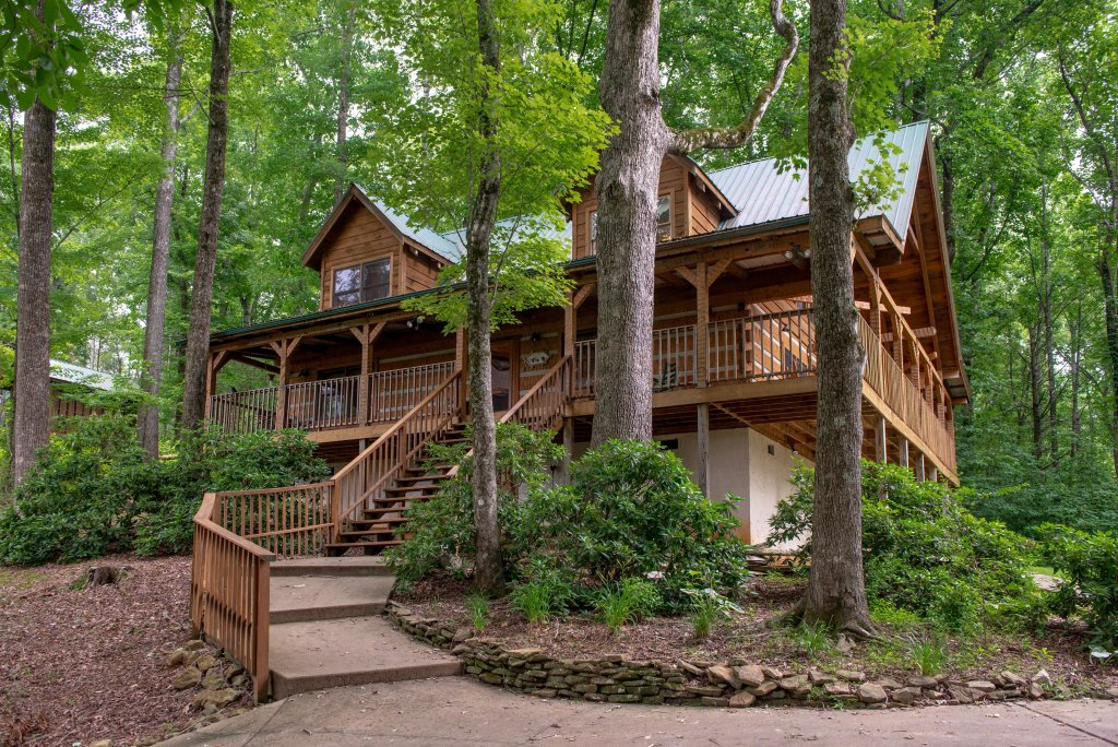 Photo of a Sevierville Cabin named Smokies Sanctuary Cabin - This is the twenty-eighth photo in the set.