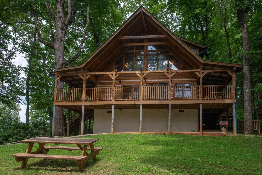 Photo of a Sevierville Cabin named Smokies Sanctuary Cabin - This is the fifth photo in the set.