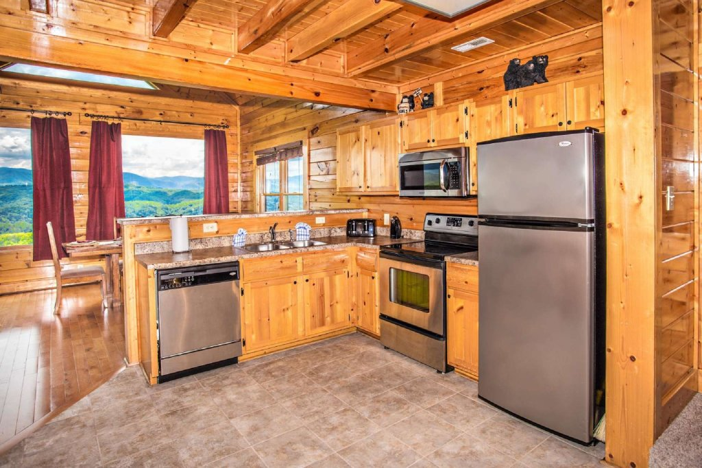 Photo of a Pigeon Forge Cabin named Best Of View - This is the fourth photo in the set.