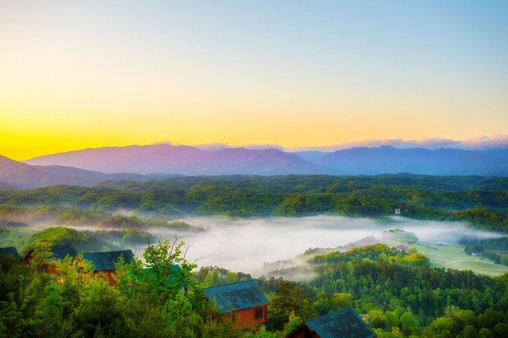 Photo of a Pigeon Forge Cabin named Best Of View - This is the twentieth photo in the set.