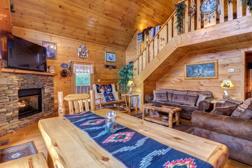 Photo of a Sevierville Cabin named An Indian Dream Cabin - This is the eighth photo in the set.