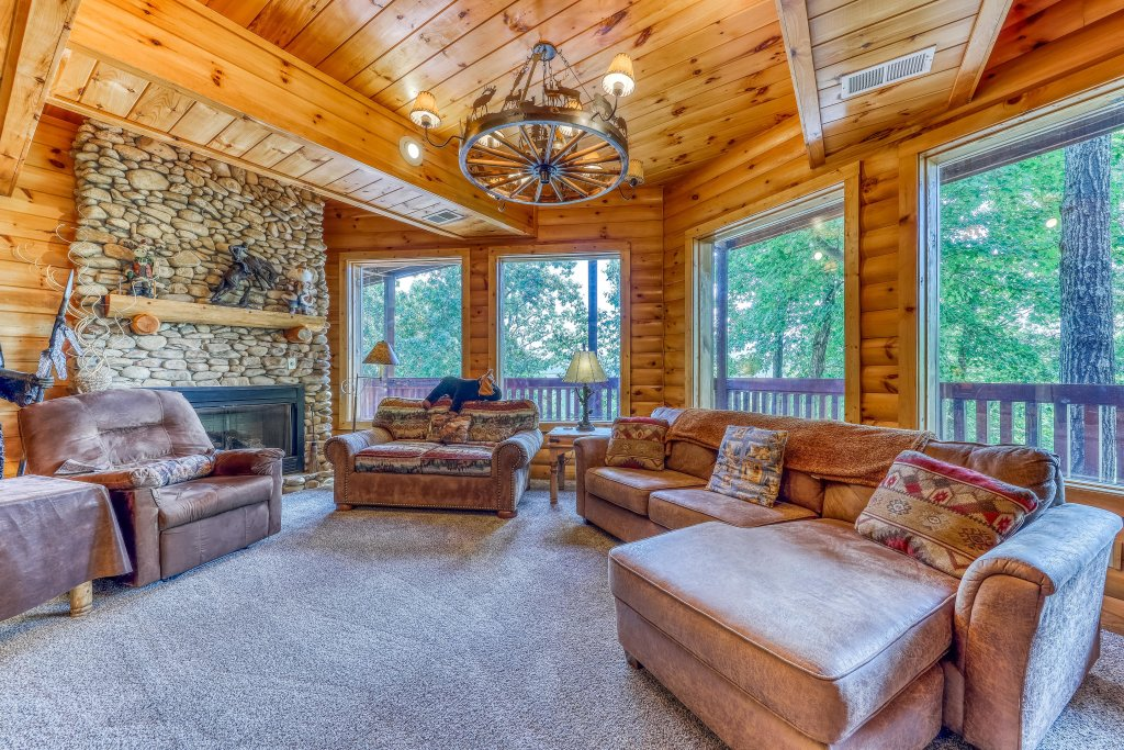 Photo of a Sevierville Cabin named Heaven On A Hill Cabin - This is the thirtieth photo in the set.