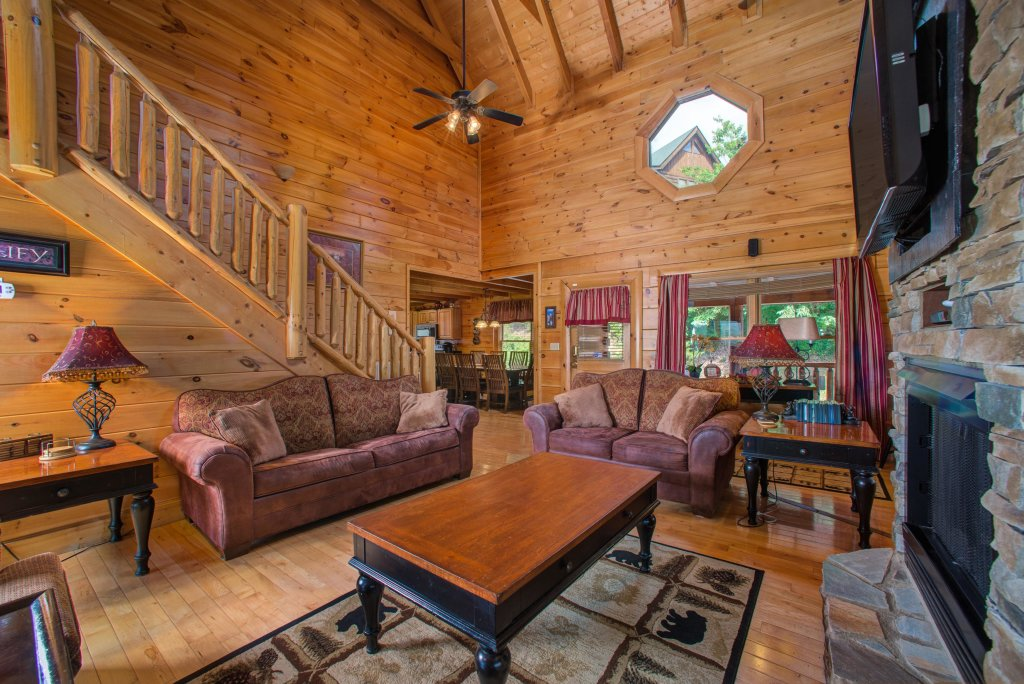 Photo of a Sevierville Cabin named Tranquility Vista - This is the seventh photo in the set.