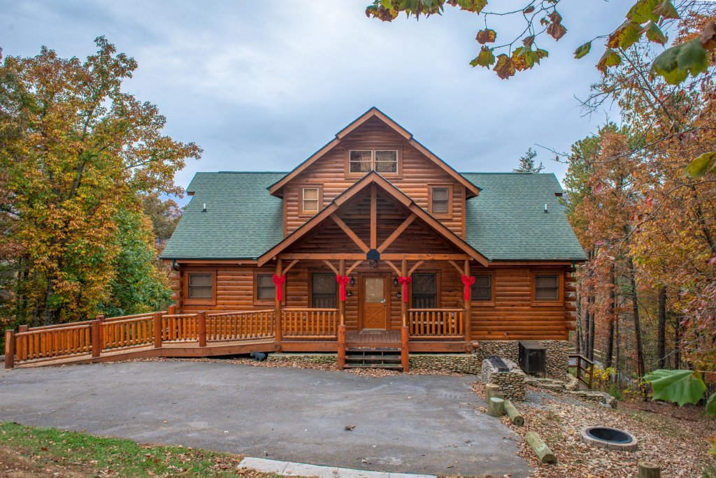 Photo of a Sevierville Cabin named Mountain Escape Cabin - This is the first photo in the set.