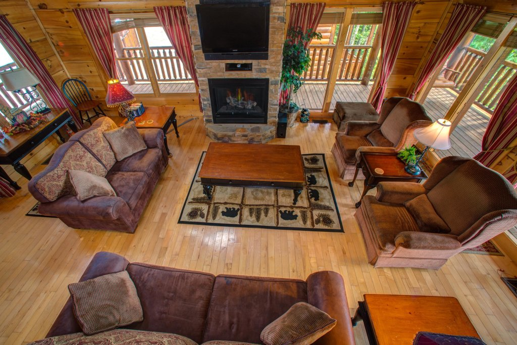 Photo of a Sevierville Cabin named Tranquility Vista - This is the twenty-ninth photo in the set.