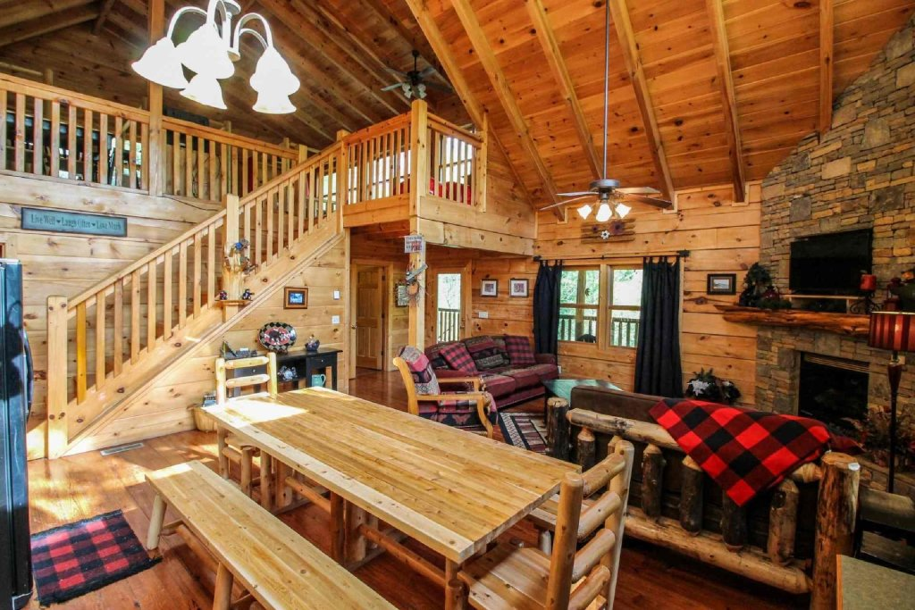 Photo of a Sevierville Cabin named Kozy Getaway - This is the fourth photo in the set.