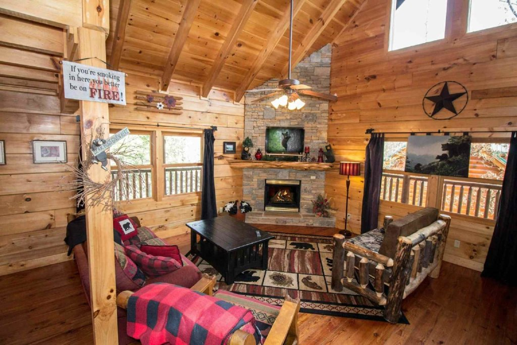Photo of a Sevierville Cabin named Kozy Getaway - This is the fifth photo in the set.