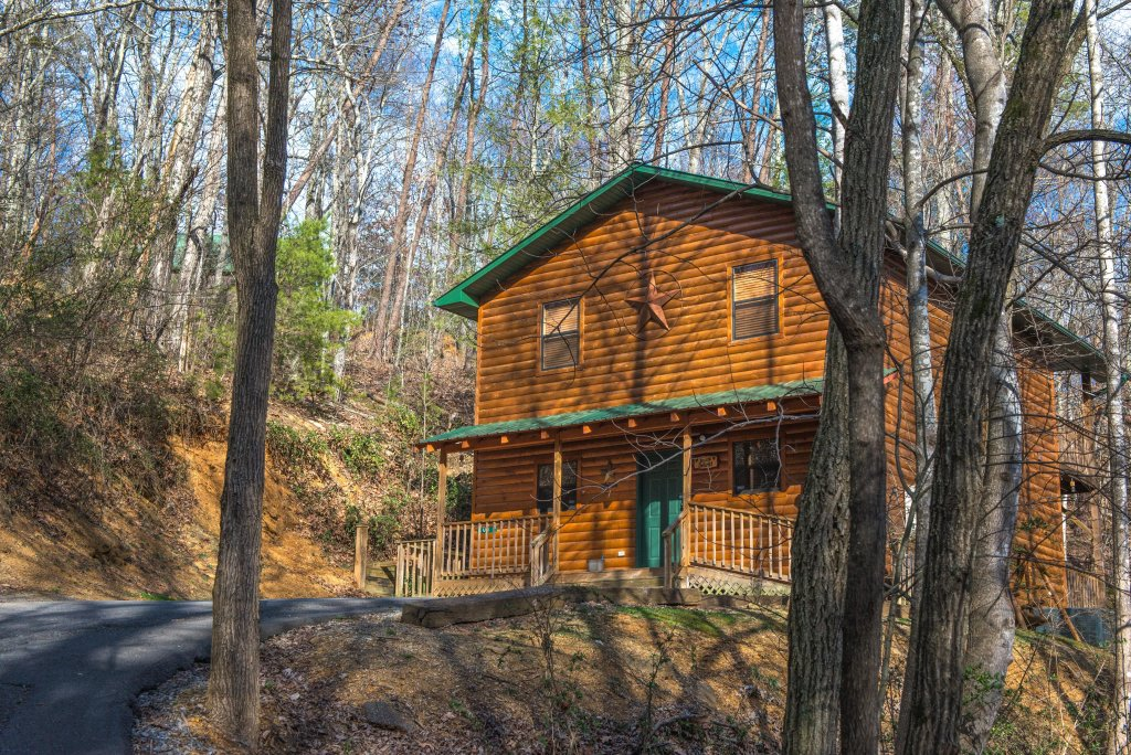 Photo of a Pigeon Forge Cabin named Dixie Delight Cabin - This is the forty-third photo in the set.