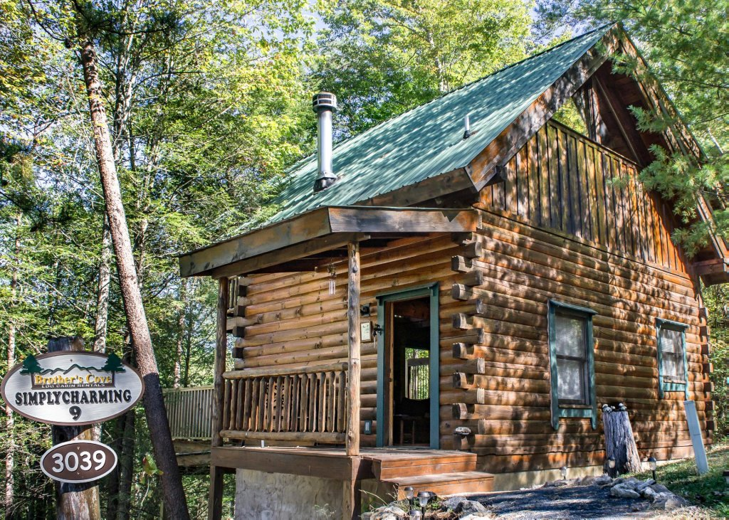 Photo of a Pigeon Forge Cabin named Simply Charming #9 - This is the first photo in the set.