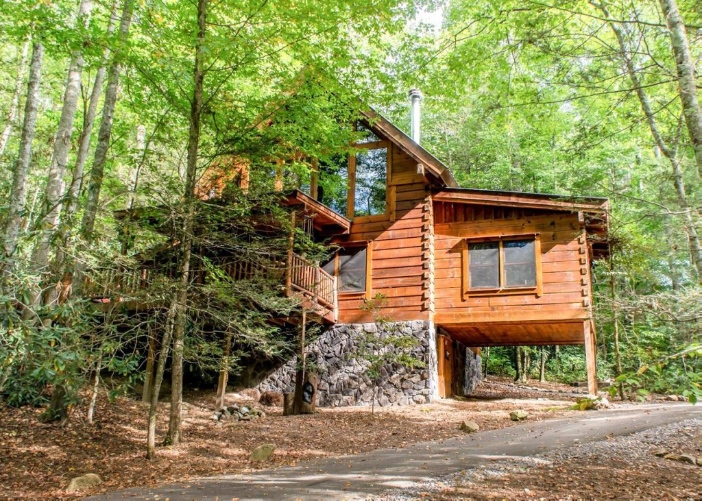 Photo of a Sevierville Cabin named Bear Paw Trail #15 - This is the twenty-fourth photo in the set.