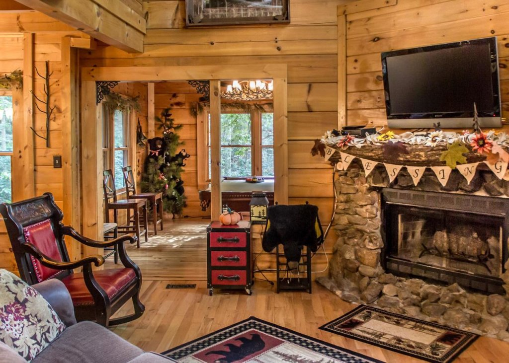 Photo of a Sevierville Cabin named Bear Paw Trail #15 - This is the seventh photo in the set.