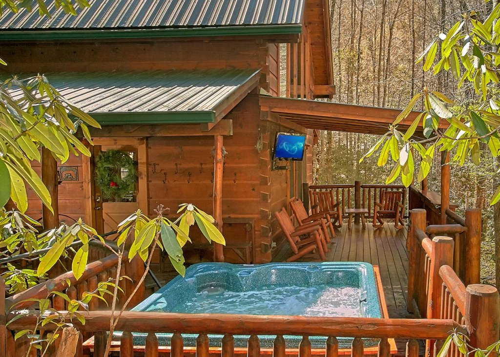 Photo of a Sevierville Cabin named Bear Paw Trail #15 - This is the first photo in the set.