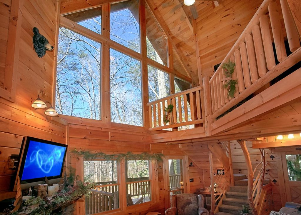 Photo of a Sevierville Cabin named Bear Paw Trail #15 - This is the third photo in the set.