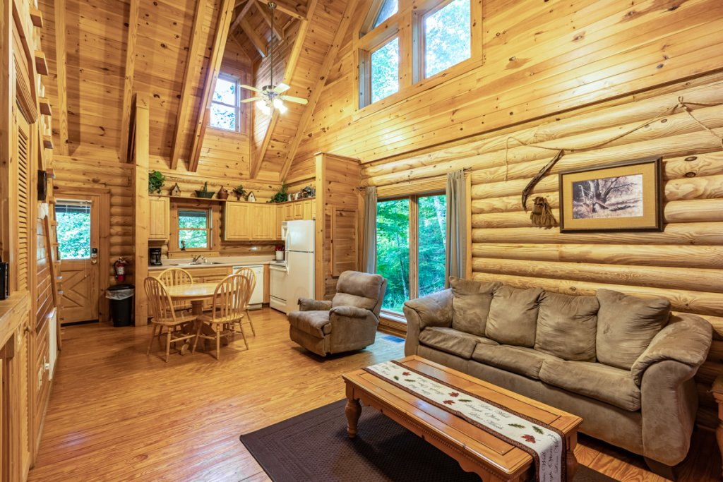 Photo of a Sevierville Cabin named Bear Naked - This is the third photo in the set.