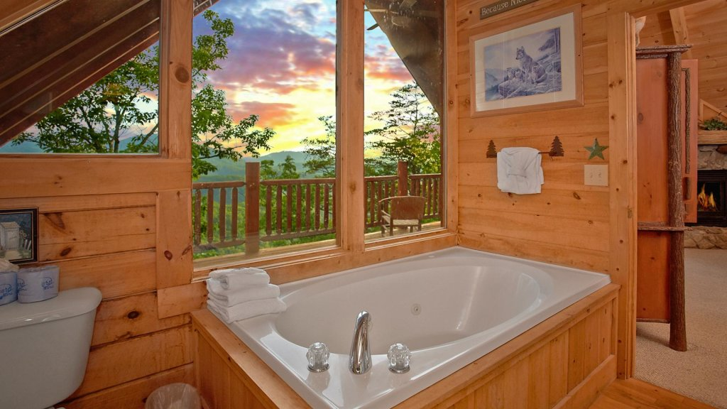 Photo of a Pigeon Forge Cabin named Buck's Lookout #39 - This is the tenth photo in the set.