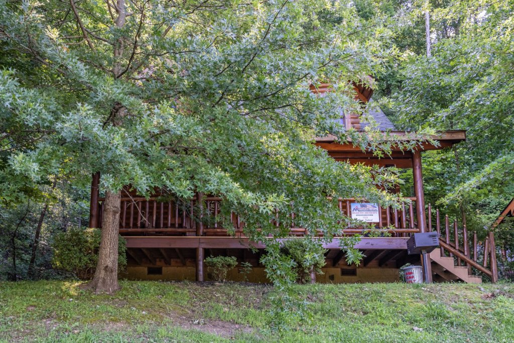 Photo of a Sevierville Cabin named Bear Naked - This is the twenty-sixth photo in the set.
