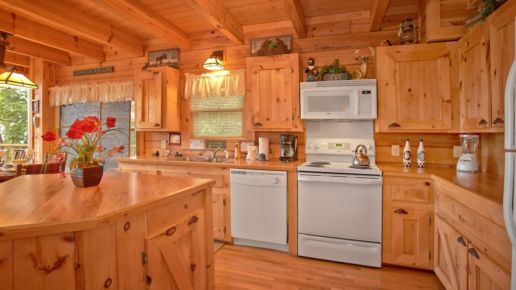 Photo of a Pigeon Forge Cabin named Buck's Lookout #39 - This is the seventh photo in the set.