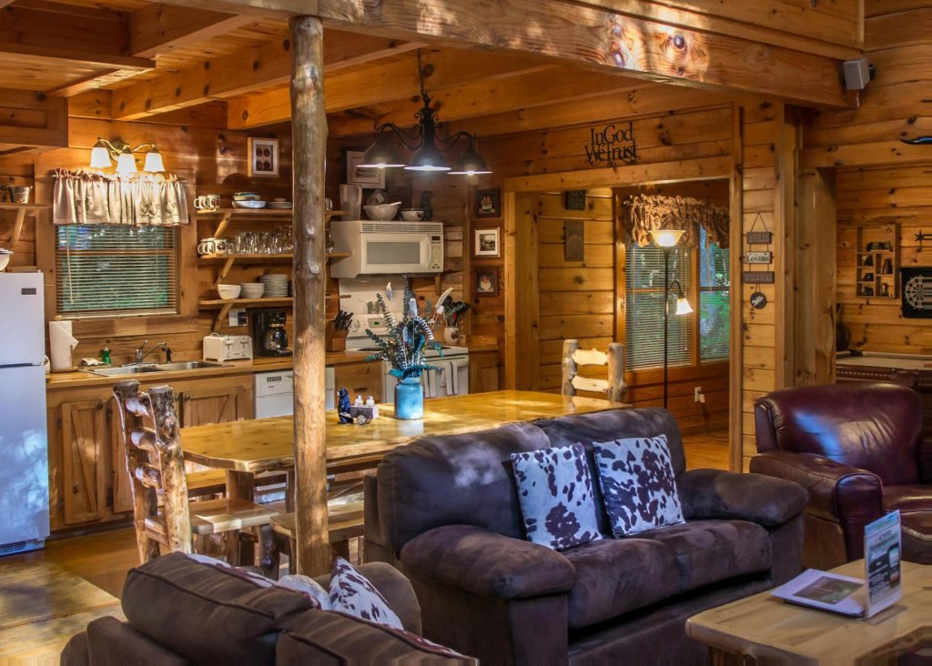 A Rustic Elegance 4 Cabin In Sevierville W 4 Br Sleeps10