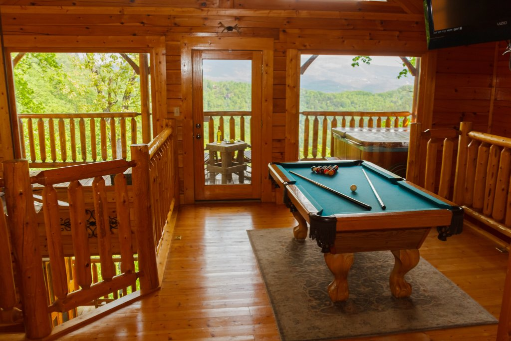 Photo of a Sevierville Cabin named Dream On High - This is the seventh photo in the set.