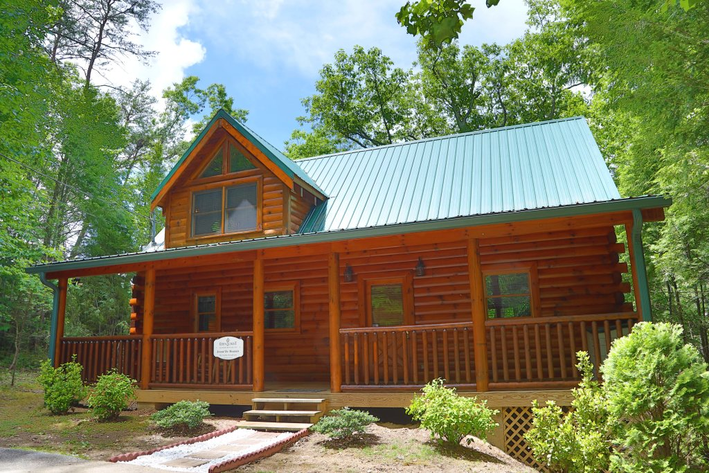 Photo of a Sevierville Cabin named Around The Mountain - This is the thirtieth photo in the set.
