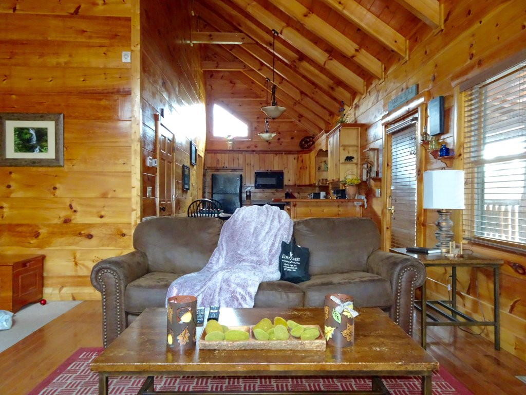 Photo of a Gatlinburg Cabin named Skinny Dippin - This is the second photo in the set.