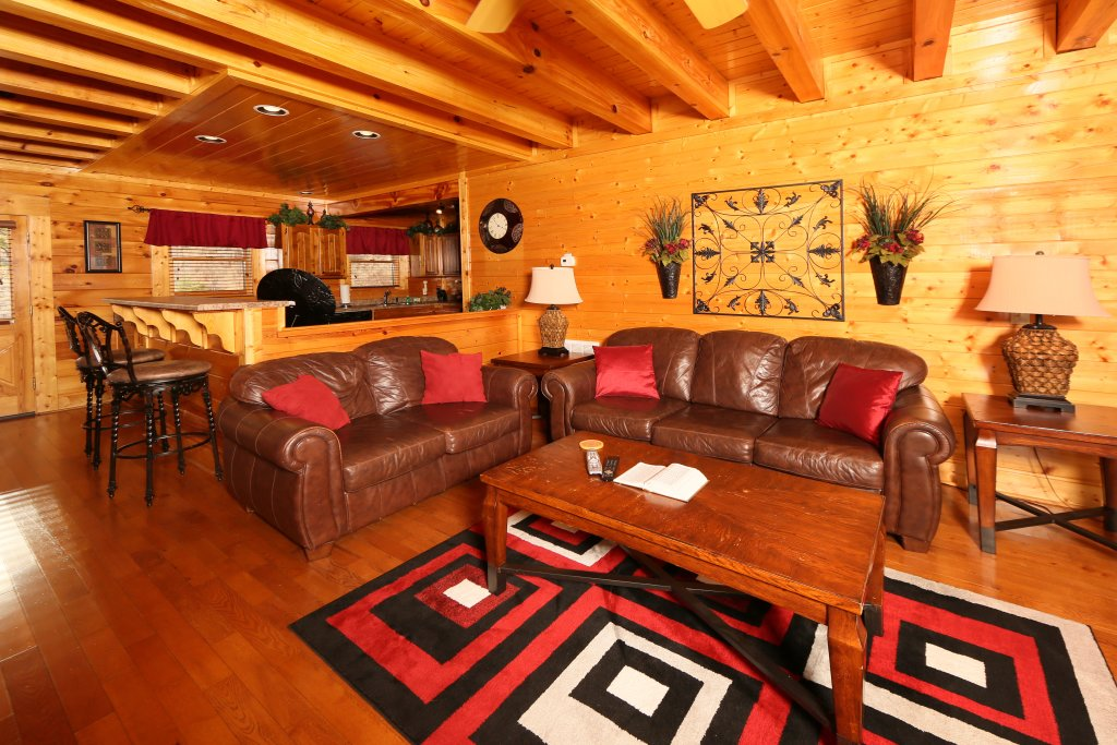 Photo of a Sevierville Cabin named Wavyleaf Retreat - This is the sixth photo in the set.