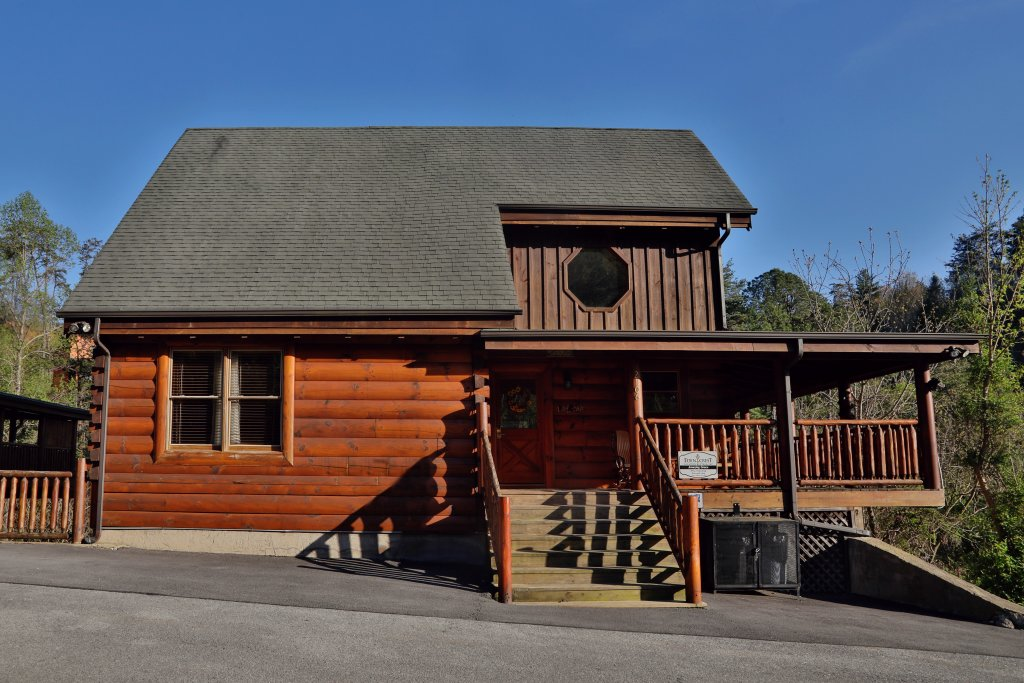 Photo of a Sevierville Cabin named Amazing Grace - This is the twenty-fourth photo in the set.