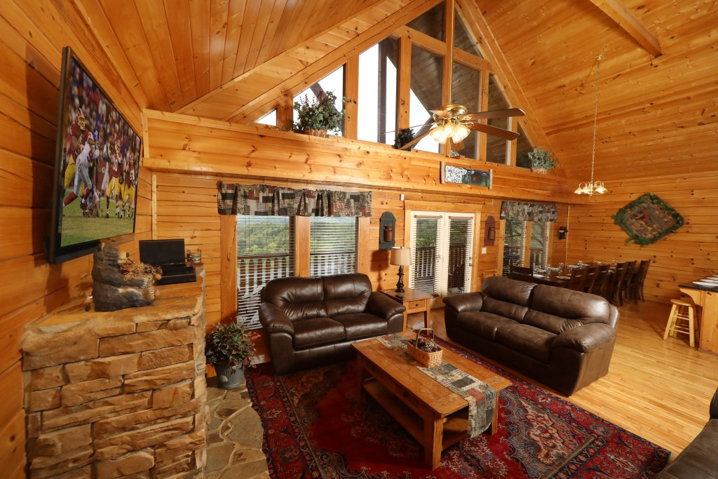 Photo of a Sevierville Cabin named Bentley Lodge - This is the third photo in the set.