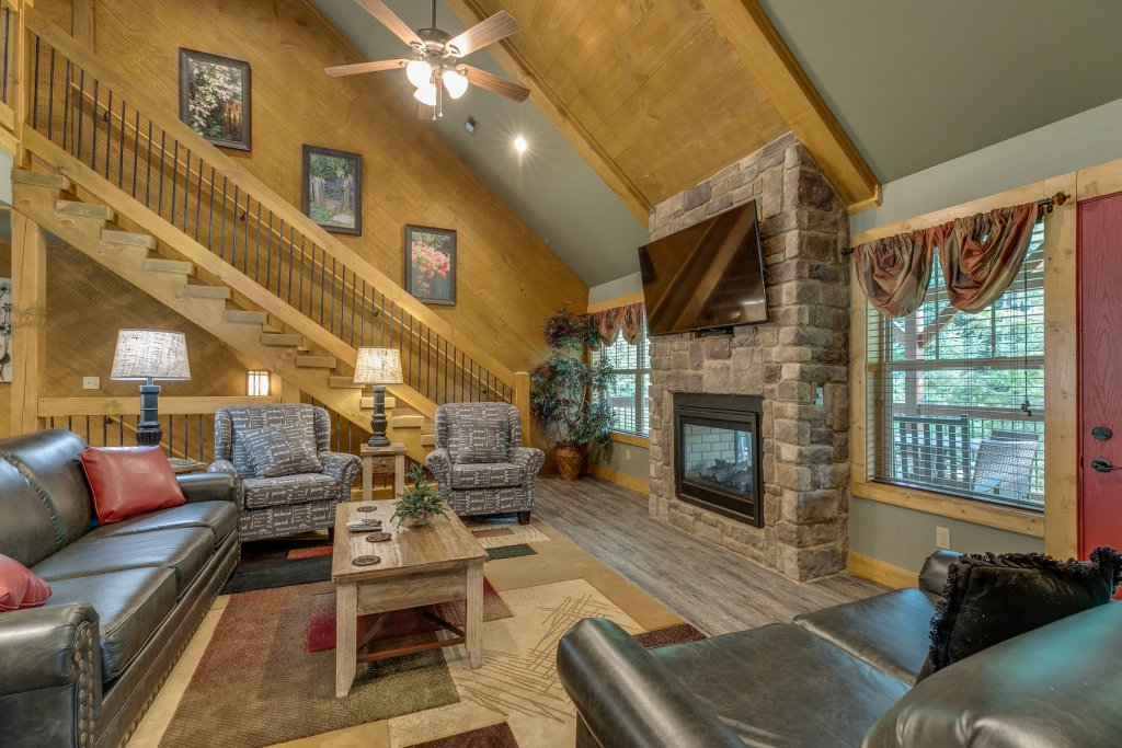 Photo of a Gatlinburg Chalet named Marco Polo - This is the fifth photo in the set.