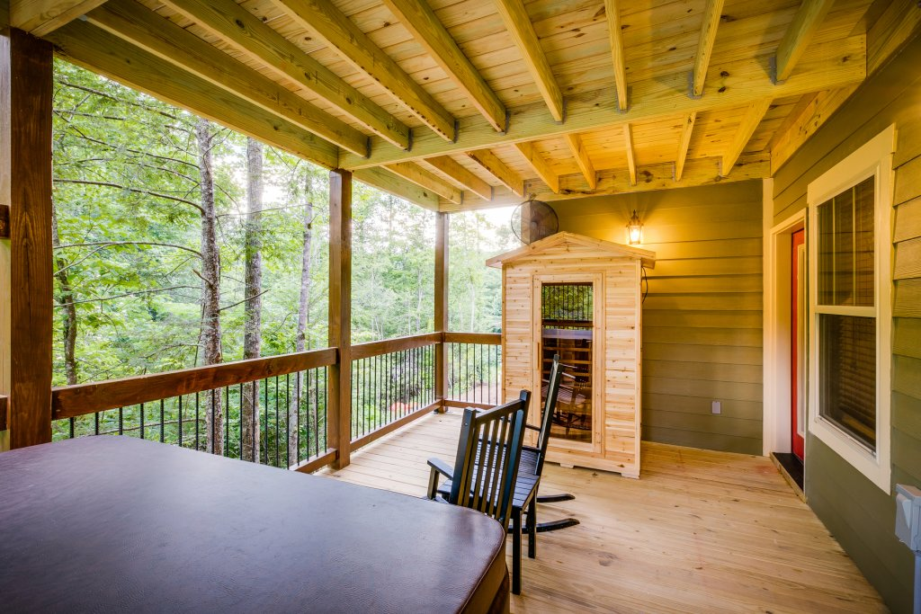 Photo of a Gatlinburg Chalet named Marco Polo - This is the forty-seventh photo in the set.