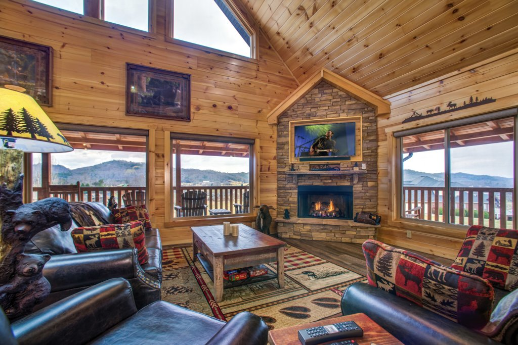Photo of a Sevierville Cabin named Mountain Majesty - This is the sixth photo in the set.