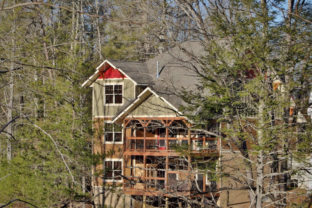 Photo of a Gatlinburg Chalet named Hilltop Haven - This is the second photo in the set.