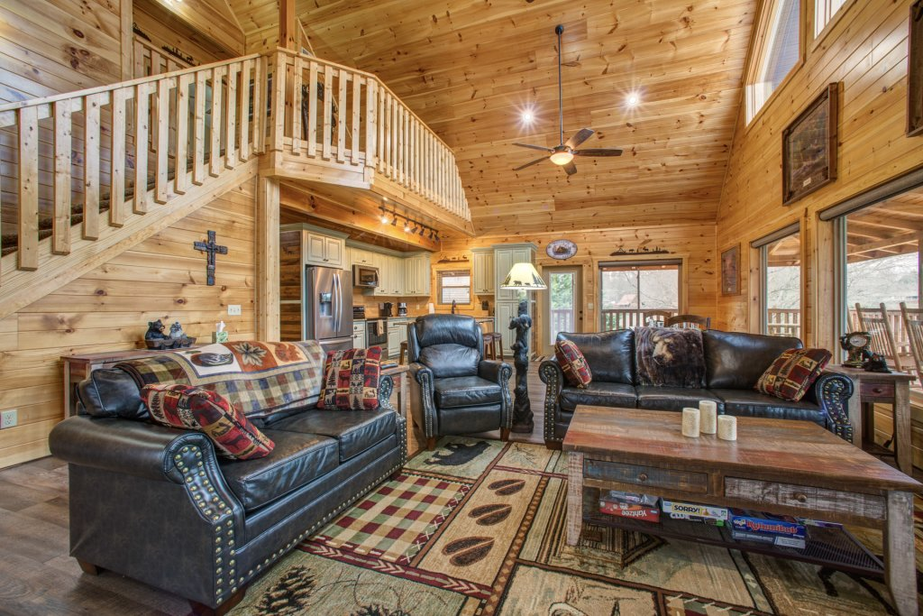 Photo of a Sevierville Cabin named Mountain Majesty - This is the fifth photo in the set.