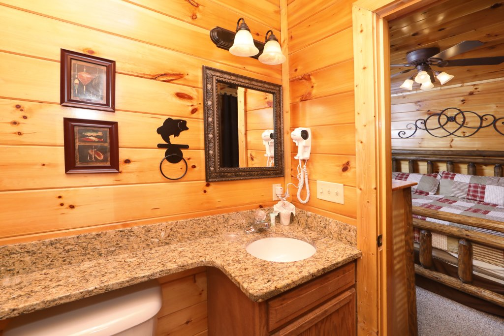 Photo of a Sevierville Cabin named Playhouse Cinema - This is the seventeenth photo in the set.