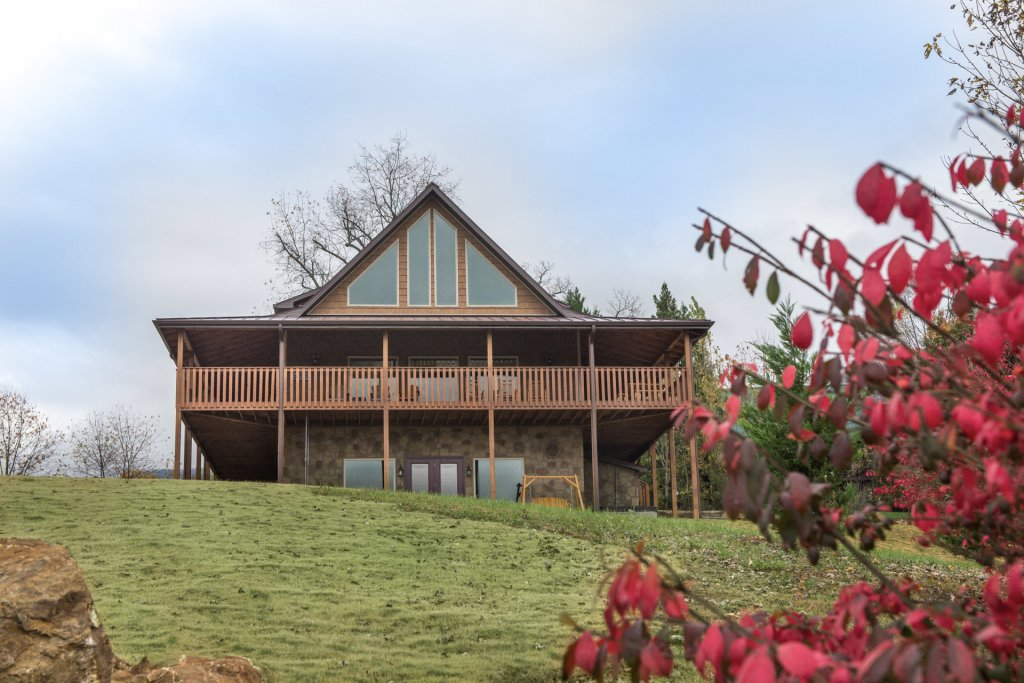 Photo of a Sevierville Cabin named Mountain Majesty - This is the twenty-ninth photo in the set.