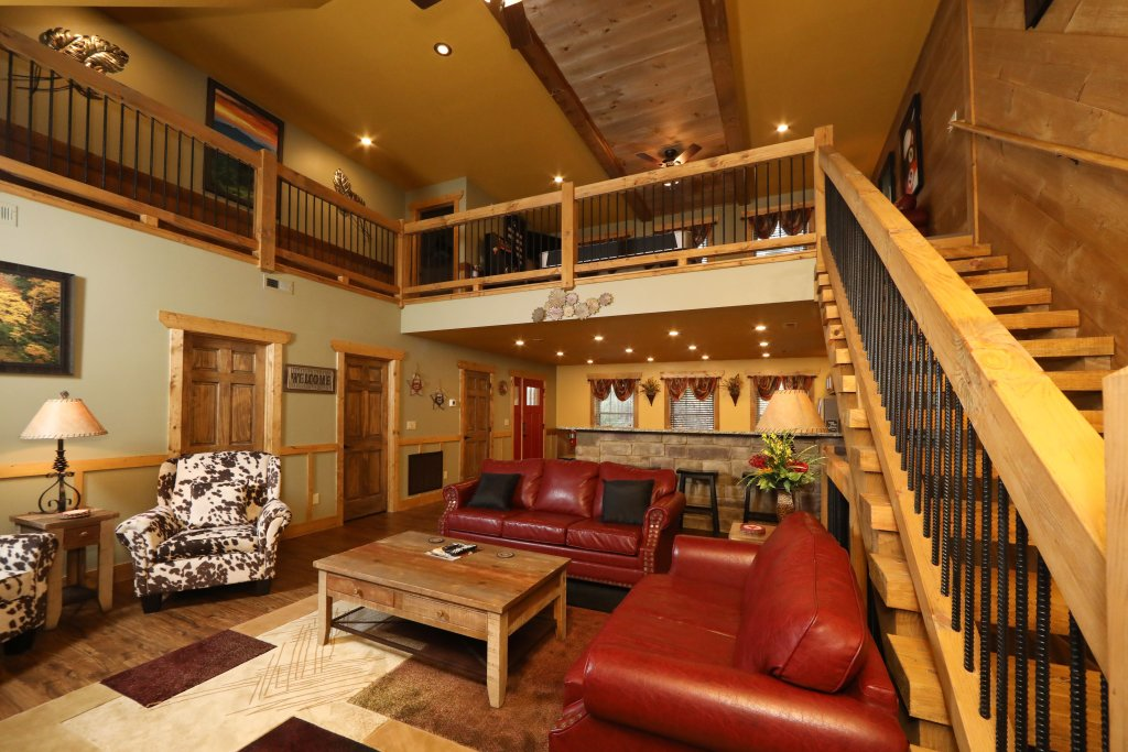 Photo of a Gatlinburg Chalet named Hilltop Haven - This is the third photo in the set.