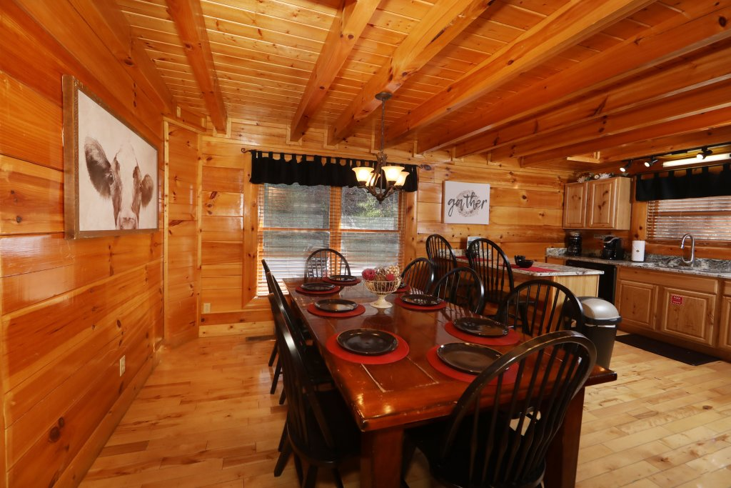 Photo of a Sevierville Cabin named Playhouse Cinema - This is the forty-first photo in the set.