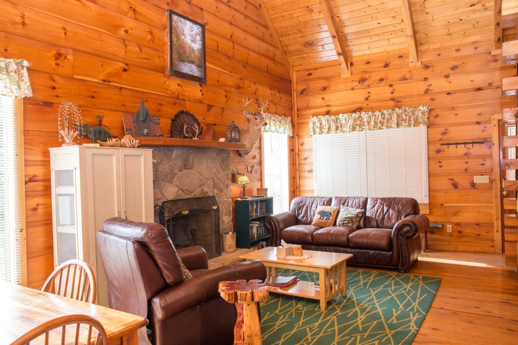 Photo of a Sevierville Cabin named On Mountain Time - This is the fourth photo in the set.