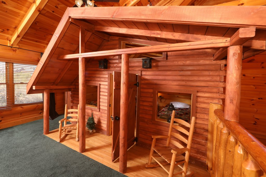 Photo of a Sevierville Cabin named Playhouse Cinema - This is the twenty-seventh photo in the set.