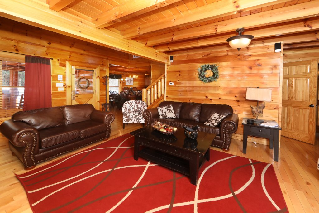 Photo of a Sevierville Cabin named Playhouse Cinema - This is the fifth photo in the set.