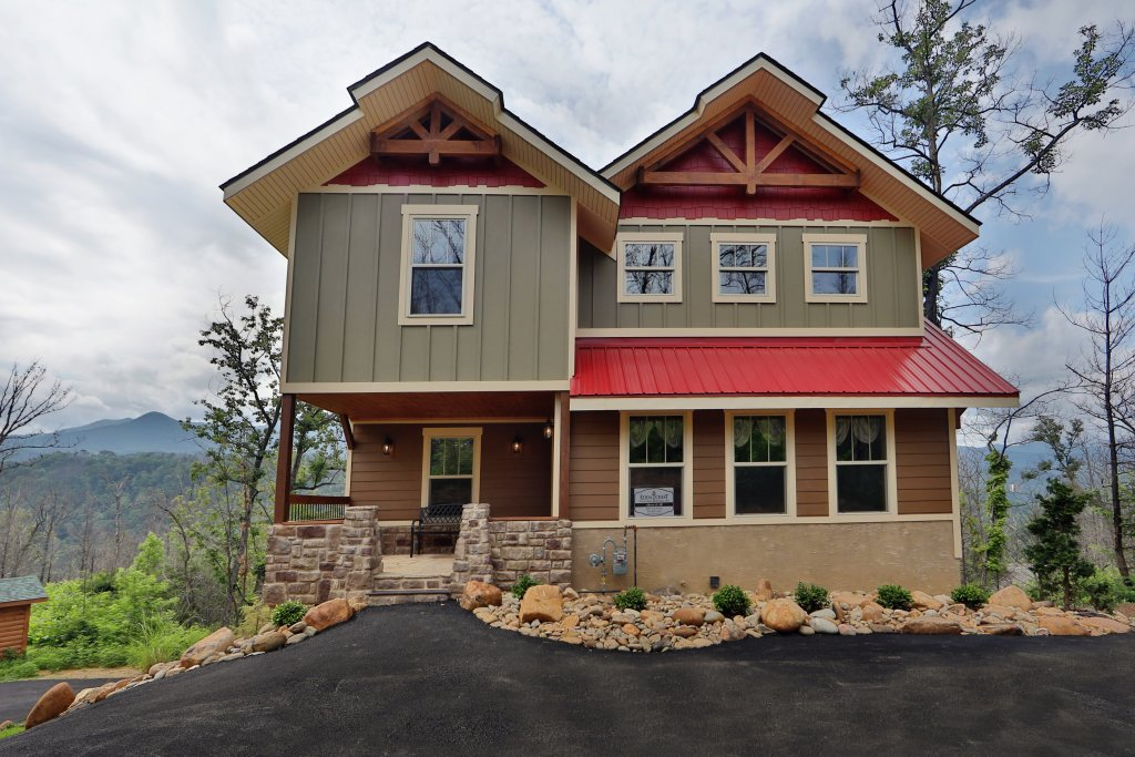 Photo of a Gatlinburg Cabin named Above It All - This is the forty-first photo in the set.