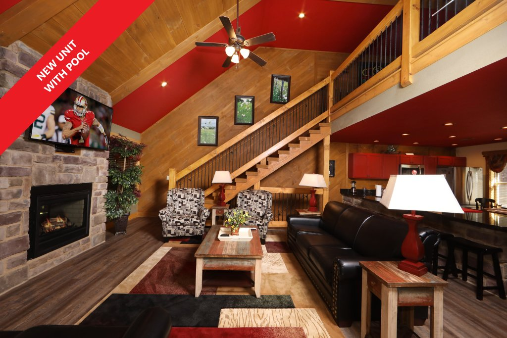Photo of a Gatlinburg Chalet named Splash Mansion - This is the first photo in the set.