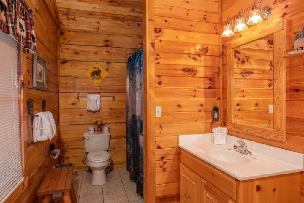 Photo of a Pigeon Forge Cabin named Bear Country - This is the eighteenth photo in the set.