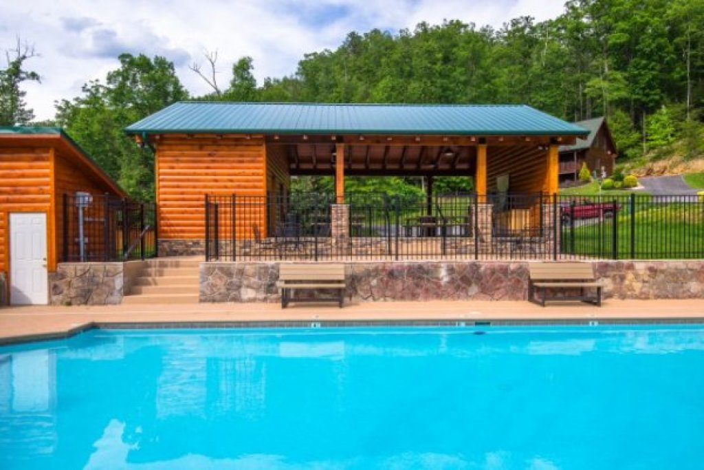 Photo of a Sevierville Cabin named Kountry Lovin' - This is the twenty-first photo in the set.