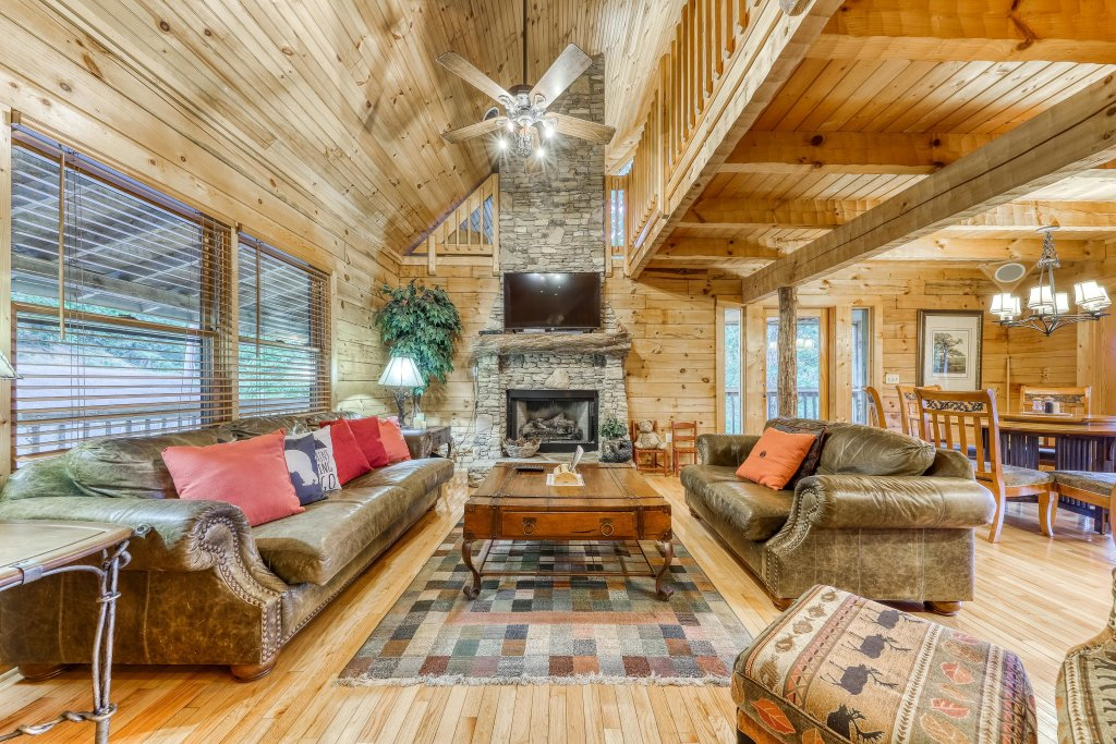 Photo of a Sevierville Cabin named Teddy Bear Lodge - This is the sixth photo in the set.