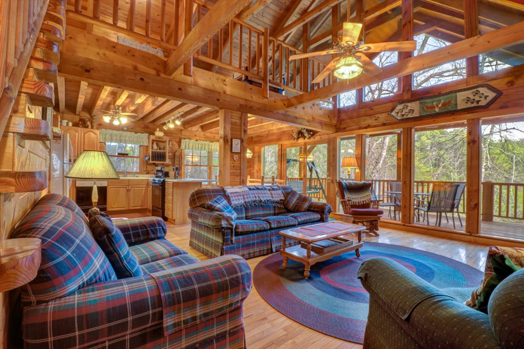 Photo of a Sevierville Cabin named Peak A View - This is the first photo in the set.