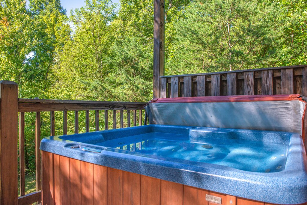 Photo of a Sevierville Cabin named Skinny Dippin - This is the fifth photo in the set.